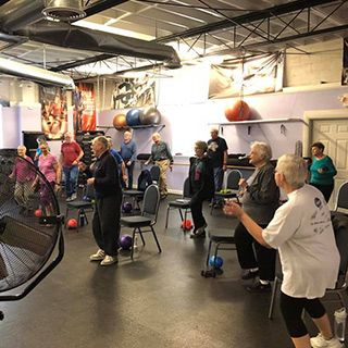 Boomers/Senior Group Classes at Tate's Total Training